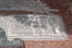 Edward Ronald Shaw