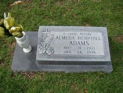 Almeda Hemphill Adams