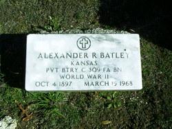 Alexander R Batley