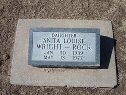 Anita Louise Wright <i>Burditt</i> Rock