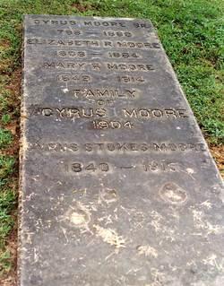 Cyrus Moore, Sr