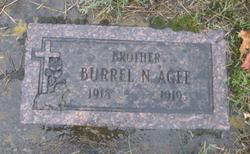 Burrel Norman Agee