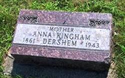 Anna <i>Kingham</i> Dershem