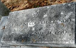 Lucy Pauline <i>Courrege</i> Benoit