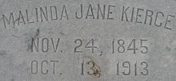 Malinda Jane <i>Rowe</i> Kierce