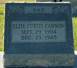 Elzie Curtis Cannon, Jr