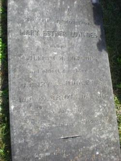 Mary Esther <i>Middleton</i> Lowndes