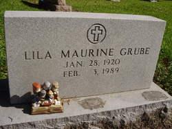 Lila Maurine <i>Tye</i> Grube