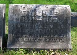 Col Edmund William Cole