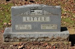 Effie Gertrude <i>Saunders</i> Little