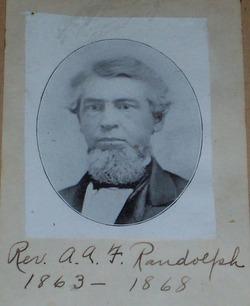 Rev Asa Azariah Fitz Randolph