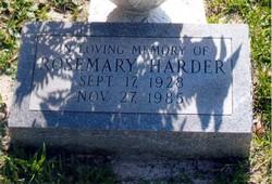 Rose Mary <i>Davis</i> Harder