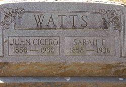 John Cicero Watts