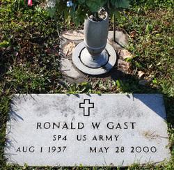 Ronald W Gast