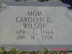 Carolyn Dewana <i>Clark</i> Wilson
