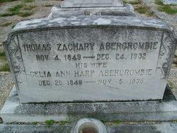 Thomas Zachery Abercrombie