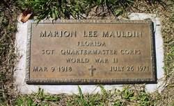 Marion Lee Mauldin