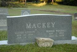 Winnie <i>Woodall</i> Mackey