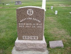 Mary <i>Vine</i> Brown