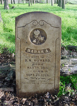 Sarah Ann <i>Harris</i> Howard