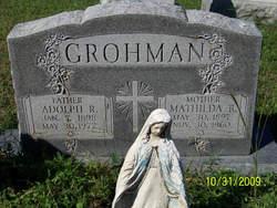 Mathilda Rosalie <i>Schmidts</i> Grohman