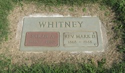 Sarah A. <i>Stinson</i> Whitney