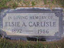 Elsie Anna <i>Wogatzke</i> Carlisle