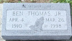Ben Thomas, Jr