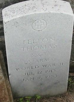 Sgt Felton Thomas
