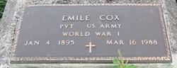 Pvt Emile Cox