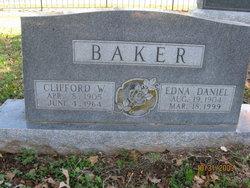 Edna <i>Daniel</i> Baker