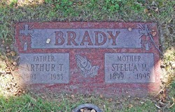 Arthur J Brady