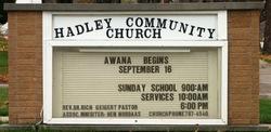 Hadley Community Church Cemetery