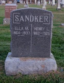 Ella M <i>Alspaw</i> Sandker
