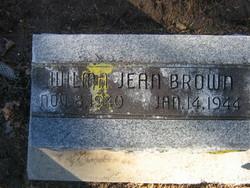 Wilma Jean Brown