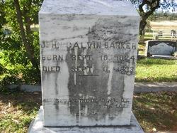John Calvin Barker