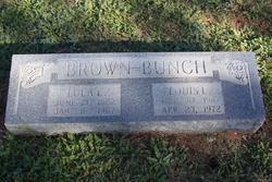 Lula Elizabeth <i>Bunch</i> Brown