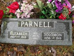 Elizabeth <i>Robinson</i> Parnell