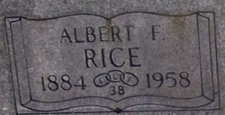 Albert Frederick Rice