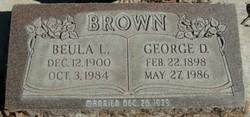 Beula Leona <i>West</i> Brown