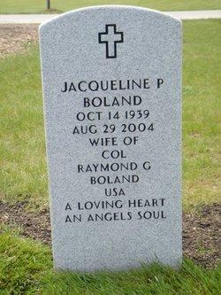 Jacqueline P. <i>Parker</i> Boland