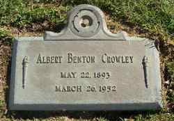 Albert Benton Crowley