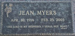 Iva Jean <i>Stewart</i> Myers