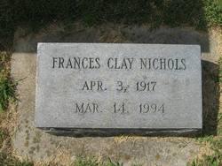 Frances <i>Clay</i> Nichols