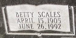 Betty Scales Atkinson