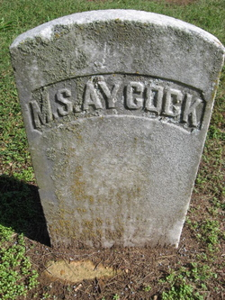 M S Aycock
