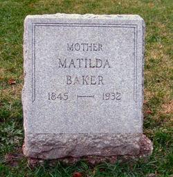Matilda <i>Longfellow</i> Baker