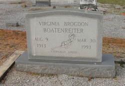 Virginia <i>Brogdon</i> Boatenreiter