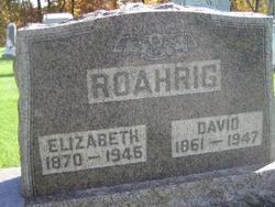 Susan Elizabeth Elizabeth <i>Strohacker</i> Roahrig