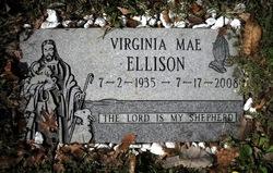 Virginia Mae <i>Jones</i> Ellison